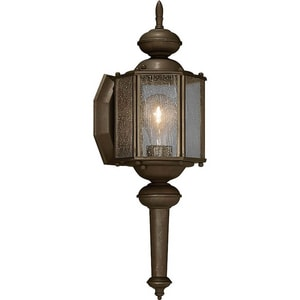Progress Lighting Roman Coach 5-3/4 in. 100 W 1-Light Medium Lantern in Antique Bronze PP577320