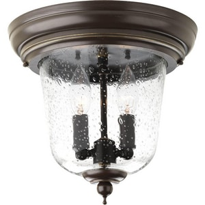 Progress Lighting Ashmore 60W 2-Light Flush Mount Outdoor Lantern PP5562