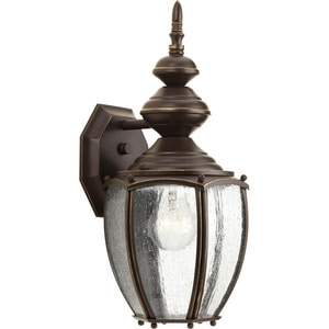 Progress Lighting Roman Coach 14-1/4 x 7-1/4 in. 100W 1-Light Outdoor Wall Lantern PP5765