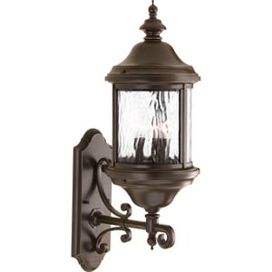 Progress Lighting Ashmore 23-3/8 in. 60W 3-Light Candelabra Wall Lantern PP5652