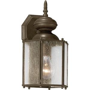 Progress Lighting Roman Coach 12-1/2 in. 100 W 1-Light Medium Lantern in Antique Bronze PP577720