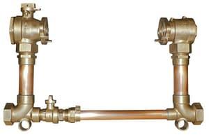 Ford Meter Box 18 in. D P Swivel Copper Straight Meter Setter FVBHH7718BHC1177NL