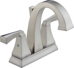 Delta Faucet Dryden™ Centerset Lavatory Faucet with Double Lever Handle D2551MPUDST