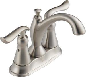 Delta Faucet Linden™ Centerset Lavatory Faucet with Double Lever Handle D2594MPUDST