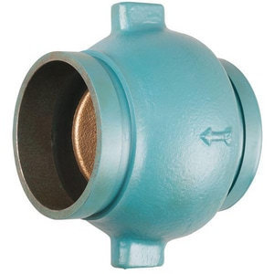 Nibco Grooved Check Valve with Buna-N and Nitrile Valve Seat NKG900WLF
