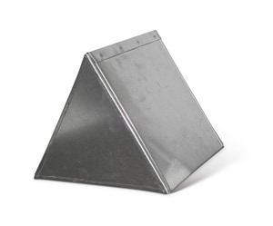Lukjan Metal Products 16 x 16 x 16 in. 30 ga Triangle Box SHMT3016161624