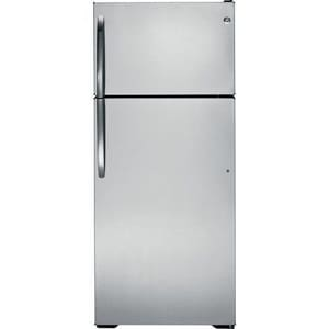 General Electric Appliances Top-Freezer Refrigerator in Stainless Steel GGTZ18GCESS