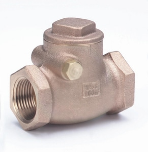 Milwaukee Valve Bronze Threaded Swing Check Valve M509T