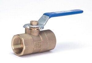 Milwaukee Valve BA-200 Forged Brass Reduced Port Threaded 400# Ball Valve MBA200