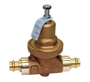 Apollo Conbraco 36LF Series 75# 250 psi Solder Bronze Water Pressure Reducing Valve A36LF2001PR