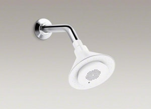 Kohler Moxie™ 2.5 gpm 1-Function Showerhead with Wireless Speaker K9245