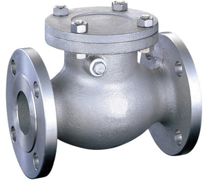 FNW 24-49/100 in. 150# Flanged Stainless Steel Swing Check Valve FNW471A