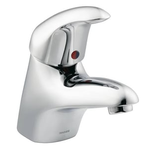 Moen 2.2 gpm Single Hole Single Handle Commercial Lavatory Faucet M8417F05