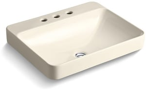 Kohler Vox® Rectangle Vessal Lavatory Widespread K2660-8