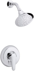 Kohler July™ 2 gpm Pressure Balancing Bath and Shower Faucet with Single Lever Handle and Diverter Spout KT98007-4