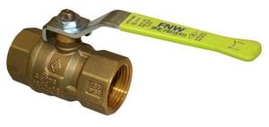 FNW 400 psi 2-Piece Threaded Brass Full Port Ball Valve FNW415