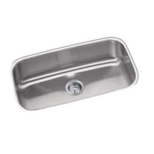 PROFLO® 30 x 17-3/4 1 Bowl Undermount Stainless Steel Sink No Hole PFUC308