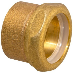 Elkhart Products Corporation Drainage Waste and Vent Cast Copper x Slip Joint Trap Adapter CCDWVSJTAJ