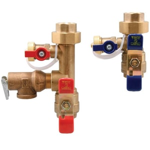 Watts 3/4 in. Tankless Water Heater Valve with Union Female Threaded End Connection WLFTWHFTHCNRVF