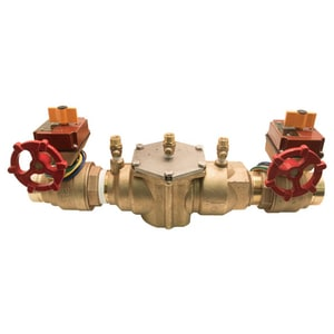 Ames Fire & Waterworks Series 2000B Double Check Backflow Preventer with Gear Operator Valve A2000BFP