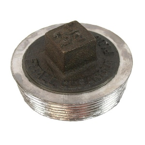 Jones Stephens PlumBest® Cast Iron 3 in. Lead Fitting All Plug JP56300
