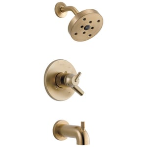 Delta Faucet Trinsic® 2 gpm Tub and Shower Trim with Single Lever Handle (Trim Only) DT17459