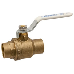 Nibco 600# Brass Solder Full Port Ball Valve NSFP600ALF