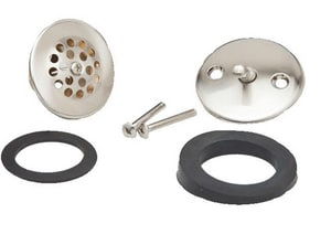 PROFLO® Trip Lever Trim Kit Waste and Overflow Drain Brushed Nickel PFWO210