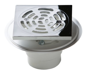 PROFLO 2 in. PVC Adjustasble Shower Drain with Square Top PF821PQ