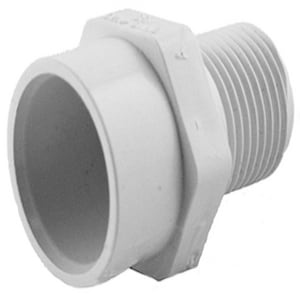 Charlotte Pipe & Foundry MPT x Socket Plastic Adapter CPMAFD