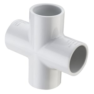 Socket Straight Schedule 40 PVC Cross  and Chemical S420
