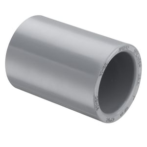 Spears Manufacturing Schedule 80 Slip Plastic Coupling S8290C