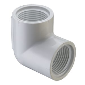 Spears FIPT Straight Schedule 40 PVC 90 Degree Elbow S408
