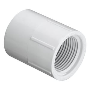Schedule 40 PVC Socket x Female Adapter S435