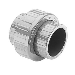 Spears Socket Straight Schedule 80 CPVC Union with FKM O-Ring Seal S857C