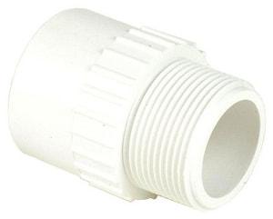 Male x Slip Schedule 40 PVC Adapter S4361