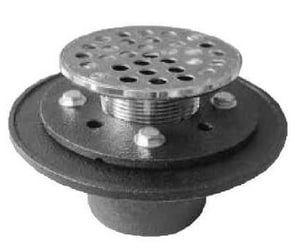 PROFLO® IPS Cast Iron Drain with Round Top PF42957RD