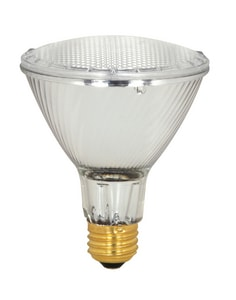 Satco 60W PAR30 Long Neck Dimmable Halogen Light Bulb with Medium Base SS2242