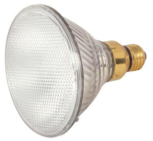 Satco 80W PAR38 Halogen Bulb Medium E-26 Base 3050K Dimmable SS2259