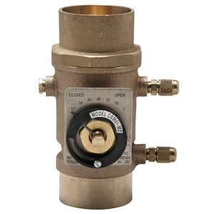 Watts Bronze Flow Measure Valve WCSM61M2S
