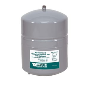 watts 2 1 gal water expansion tank for hydro heating precharged at 12 psi 0. Black Bedroom Furniture Sets. Home Design Ideas
