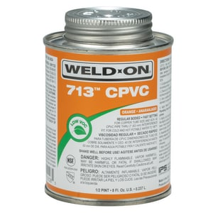 Weld-On CPVC Light Duty Cement in Orange I1012