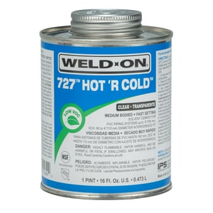 Weld-On 1 pt PVC Hot or Cold Medium Body Cement I10842