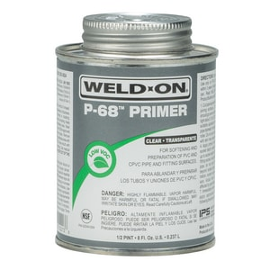 Weld-On PVC Primer Cleaner in Clear I102