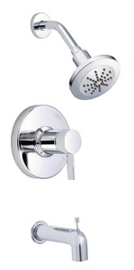Danze Amalfi™ 2 gpm Pressure Balancing Tub and Shower Faucet with Single Lever Handle DD512030T