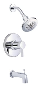Danze Amalfi™ 1.75 gpm Pressure Balancing Tub and Shower Faucet with Single Lever Handle DD511030T