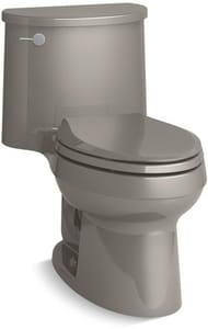 Kohler Adair® 26-1/2 x 28-1/2 in. 1.28 gpf 1-Piece Elongated Toilet with Flush Technology and Left Hand Trip Lever K6925