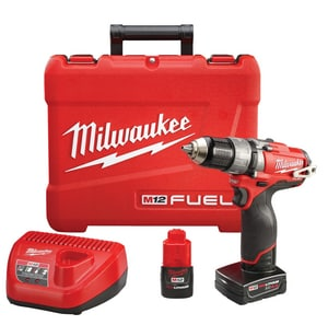 Milwaukee M12™ 7-3/4 in. Hammer Drill/Drive Kit with Battery M240422