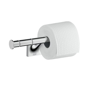 AXOR Starck Organic 10-1/8 in. Wall Mount Organic Toilet Tissue Holder in Polished Chrome AX42736000
