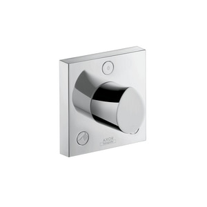 AXOR Starck Organic Tub and Shower Diverter Valve with Single Knob Handle in Polished Chrome AX12731001